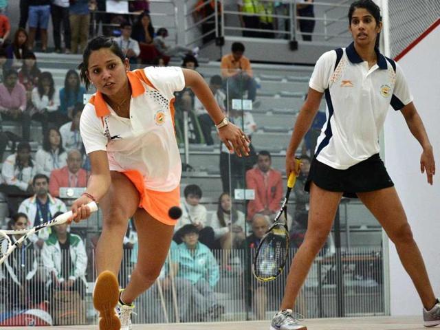 Squash,Dipika Pallikal,Joshna Chinappa