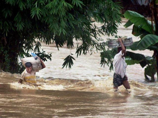 Assam,floods,valleys