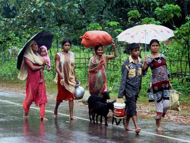 assam floods,assam flood victims,assam floods death toll