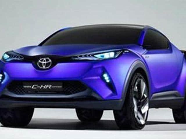 toyota,crossover concept,C-HR concept