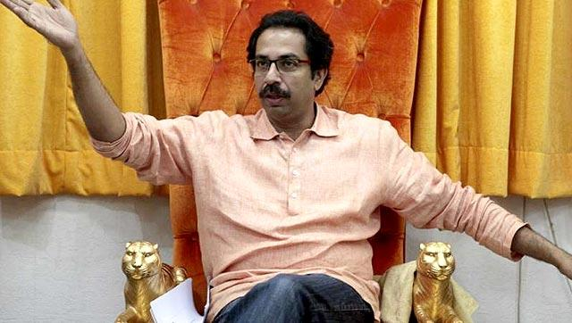 Uddhav Thackeray said cricket matches with Pakistan should not be allowed to continue while bombs are being hurled at the security forces.