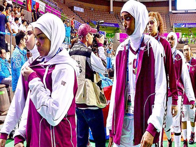 hijab,Qatar,Basketball