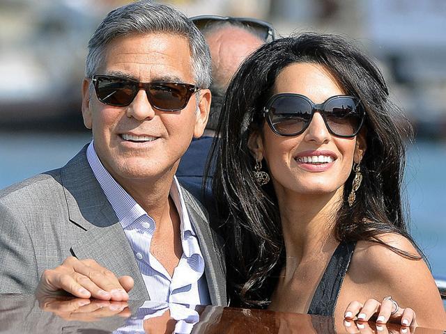 George Clooney,Amal Alamuddin,Clooney Alamuddin wedding