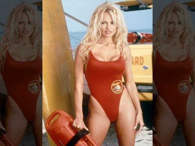 pamela anderson,baywatch,swim suit