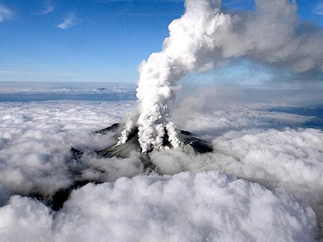 Japan volcano eruption Volcanic tremors