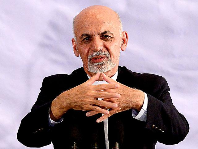Afghan-president-elect-Ashraf-Ghani-Ahmadzai-gestures-as-he-speaks-during-a-gathering-in-Kabul-AFP-Photo
