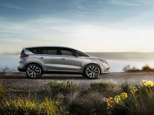 Renault reveals pics of new Espace,new Espace MPV,Paris Motor Show