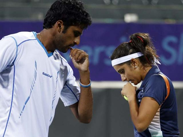 Saketh Myneni,Sania Mirza,Asian Games