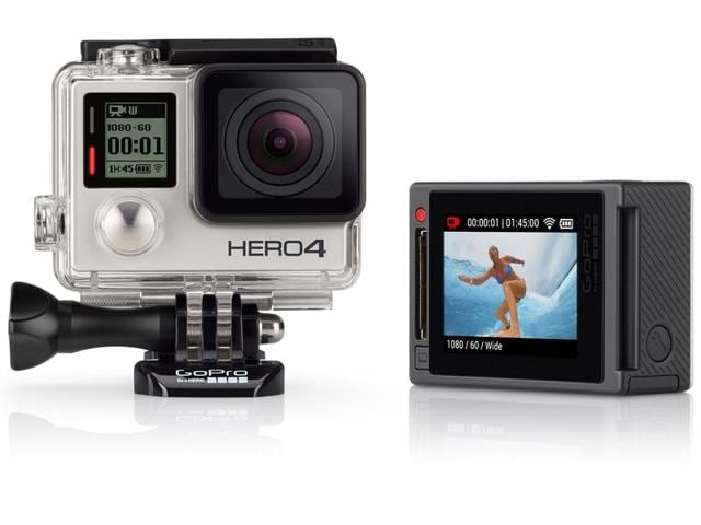 GoPro HERO4,HTC RE,Sony