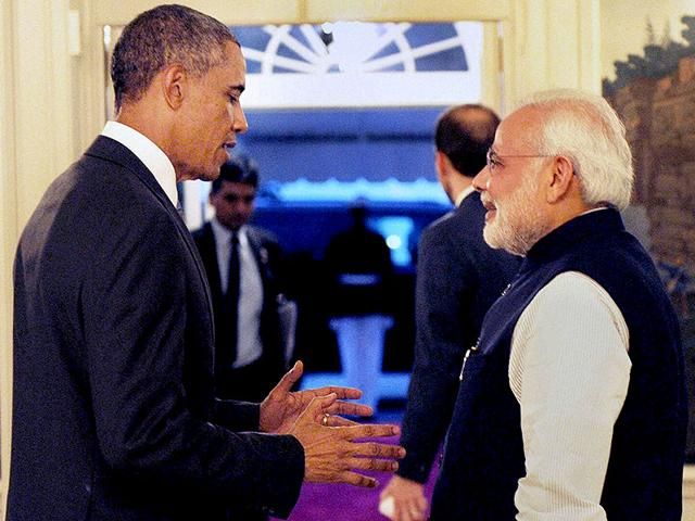Modi US visit,Modi Obama meet,Obama meets modi