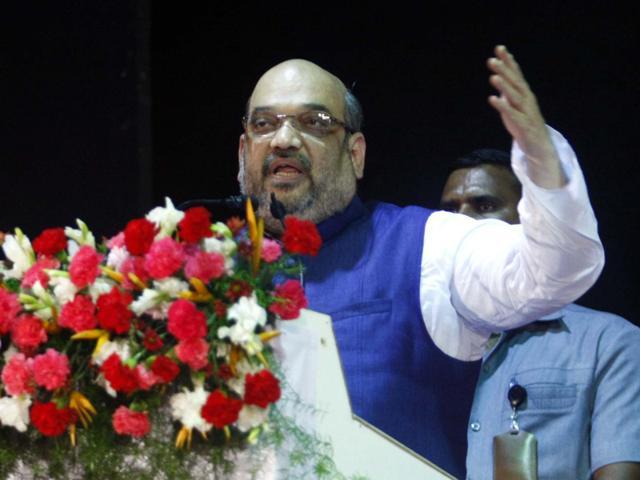 BJP govt giving tit-for-tat to Pakistan: Amit Shah
