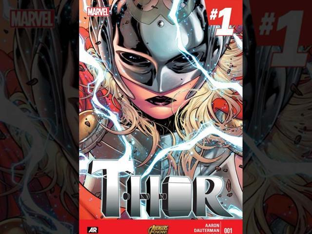 marvel comics,thor,female thor