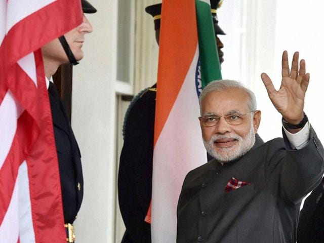 US-President-Barack-Obama-of-the-United-States-with-Prime-Minister-Narendra-Modi-at-the-dinner-hosted-in-his-honour-at-the-White-House-in-Washington-PTI-Photo
