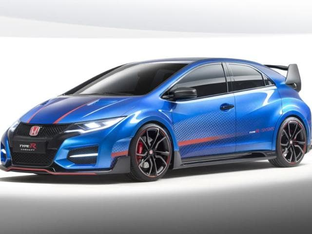 Civic Type R Concept,Type R,Honda revs up for Paris with hot Civic Type-R