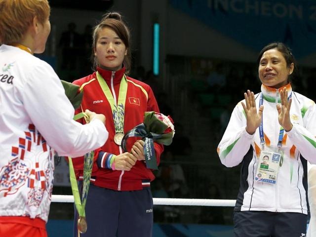Boxer L Sarita Devi