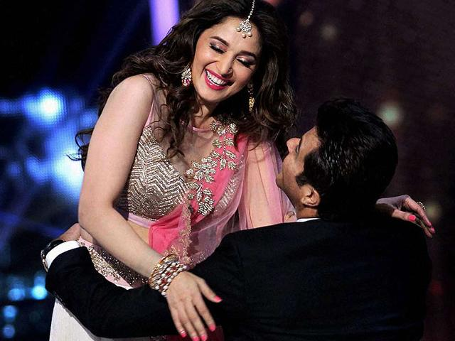 Anil-Kapoor-Madhuri-Dixit