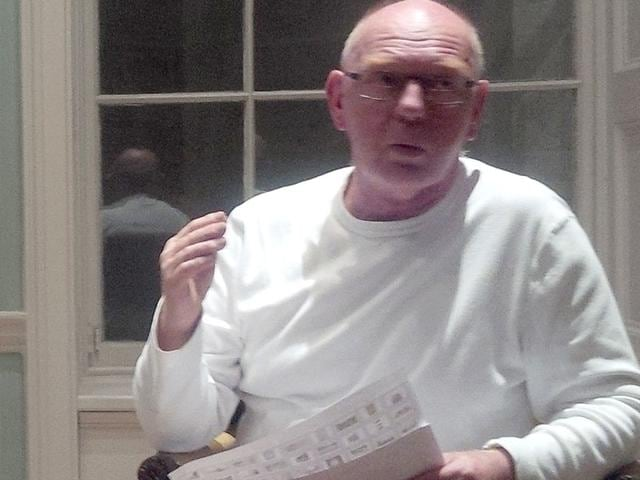 Turner-Prize-winner-Richard-Deacon-narrating-his-Asia-based-influences-on-his-work-at-the-Asia-House-in-London-on-Tuesday-HT-Photo