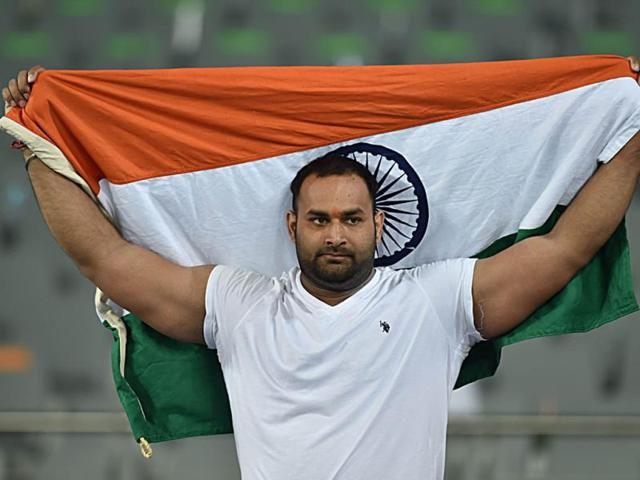 Bronze-medallist-Inderjeet-Singh-celebrates-after-the-final-of-the-men-s-shot-put-athletics-event-during-the-17th-Asian-Games-at-the-Incheon-Asiad-Main-Stadium-in-Incheon-on-Thursday-AFP-photo