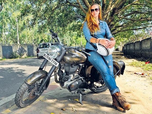 Bikerni: women on wheels break barriers, stereotypes