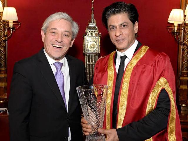 Shah Rukh Khan,Global Diversity Awards,House of Commons