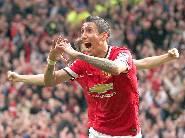 Angel Di Maria,Paris Saint-Germain,Manchester United