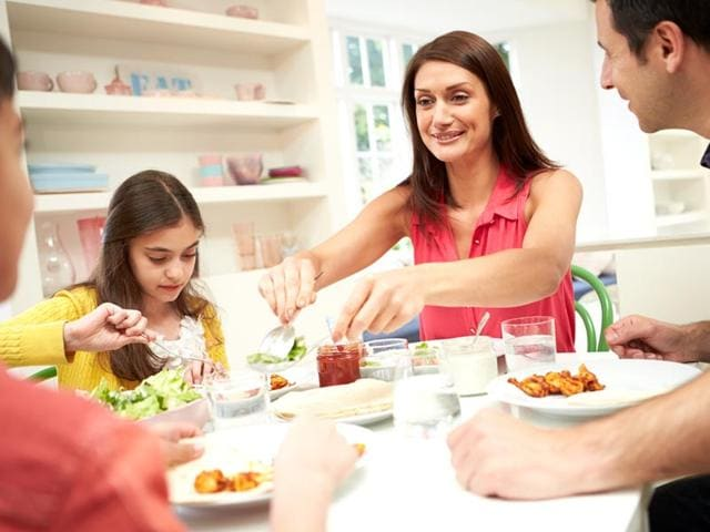 Overweight teens,family meals,obesity