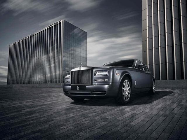 Rolls-Royce debuts