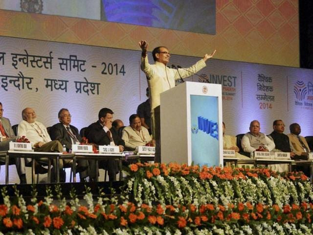 Madhya-Pradesh-CM-Shivraj-Singh-Chouhan-addresses-the-audience-at-Global-Investors-Summit-in-Indore-PTI-photo