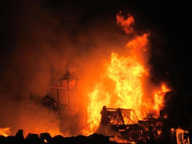 A-massive-fire-broke-out-at-a-cold-storage-near-Balood-village-in-Khargone-district-on-Indore-Khargone-road-HT-photo