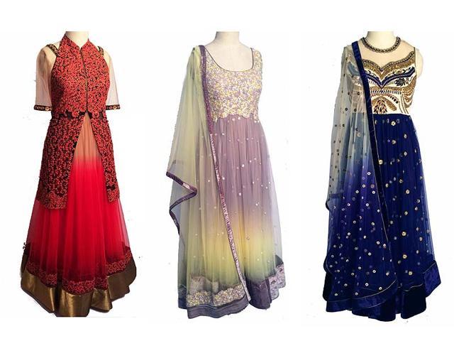 bridal wear,indian bridal wear,indian bridal trousseau