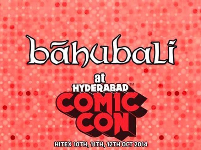 Baahubali,Comic Con,hyderabad