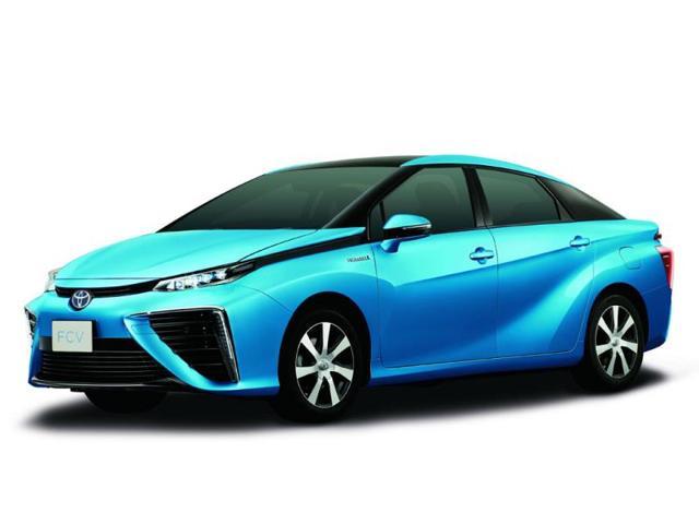 Paris Motor Show,5 ultra low-carbon vehicles,Toyota FCV