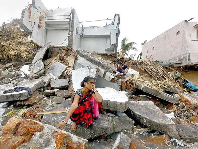 Hudhud,cyclone,Aftermath