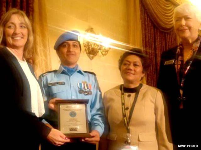Shakti Devi,UN,award