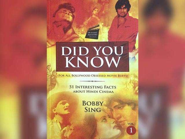did you know,bollywood fan,books on bollywood