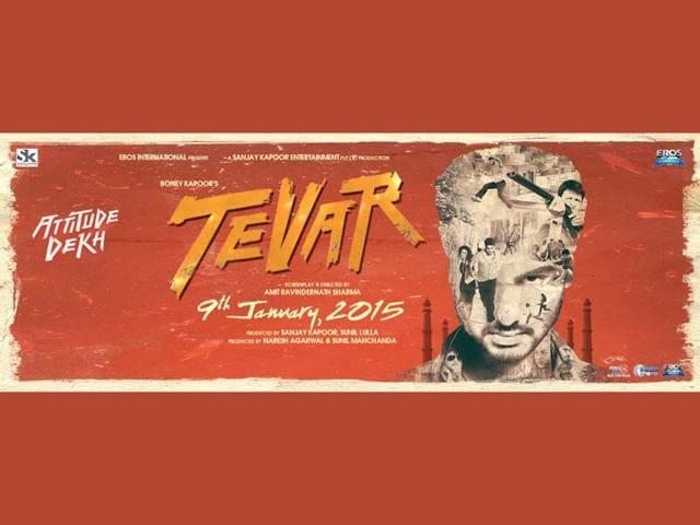 Arjun-Kapoor-in-a-poster-of-Tevar