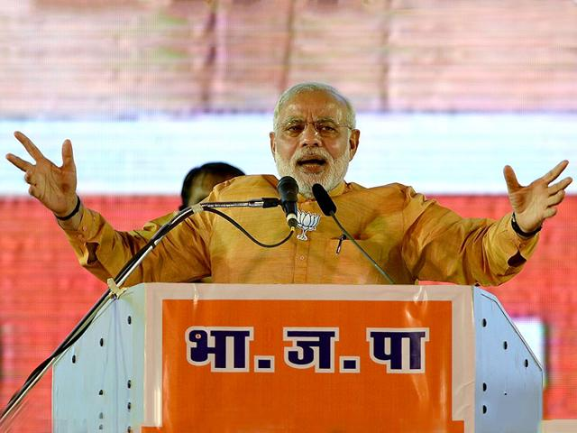 Prime-Minister-Narendra-Modi-addresses-a-public-rally-ahead-of-state-elections-in-Mumbai-AP-Photo