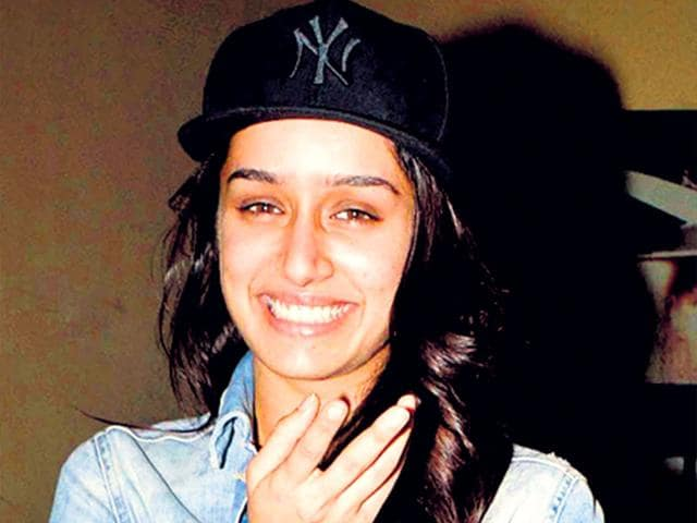 Actor-Shraddha-Kapoor-has-been-showing-off-her-love-for-baseball-caps-in-her-recent-appearances-The-actor-teams-up-a-short-denim-jacket-white-T-shirt-printed-lowers-and-baseball-cap-for-a-relaxed-look