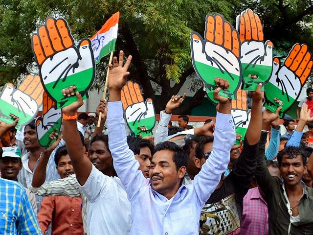 Congress-workers-outside-the-party-s-office-in-New-Delhi-PTI-Photo