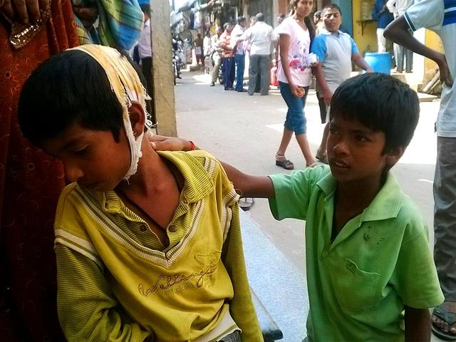 Dalit boy