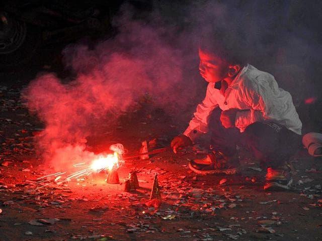 Diwali polution