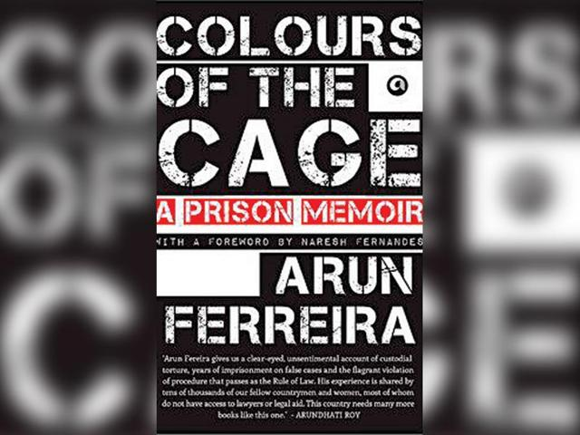 book review,arun ferriera,colours of the cage