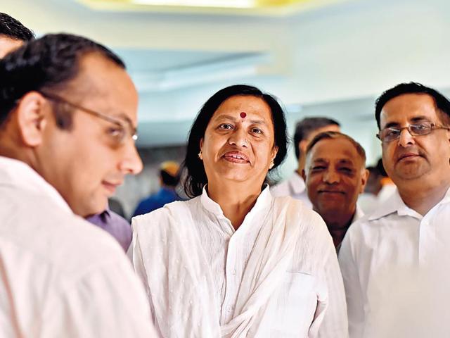 Seema Trikha,Prem Lata,Shakuntala Khatak