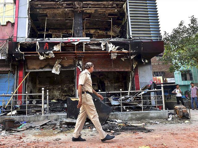 Trilokpuri residents,riots,curfew