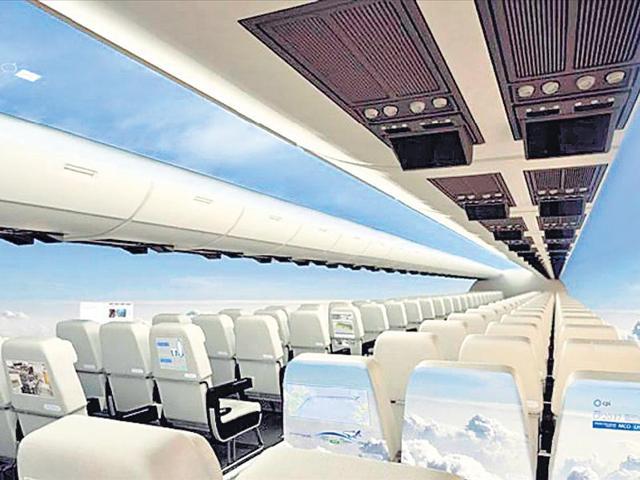 Windowless plane,futute,British company