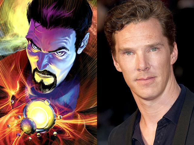 Benedict Cumberbatch,Doctor Strange,Joaquin Phoenix