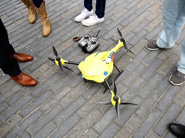 Drone with a heart: Grad student's project is a life-saver