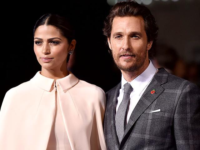 Matthew-McConaughey-poses-on-the-red-carpet-with-wife-Brazilian-model-and-designer-Camila-Alves-AFP-