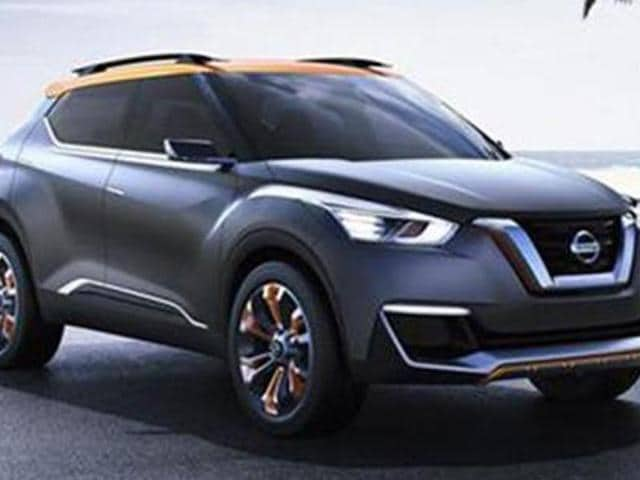 nissan,nissan new suv concept,new Nissan Kicks concept SUV