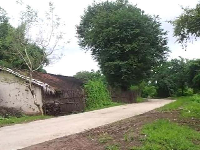 A-road-inside-the-Kattiwada-village-wears-a-deserted-look-in-fear-of-a-leopard-HT-photo